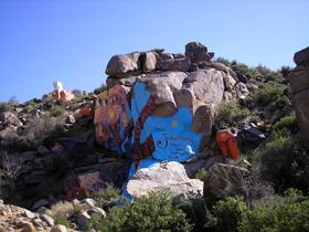 Chloride, Arizona rock murals