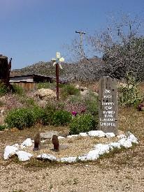 Yard Art in Chloride, Arizona