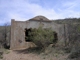 The old jail in Courtland, Arizona