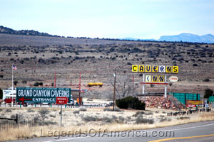 Entrance to Grand Canyon Caverns of Route 66