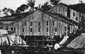Harshaw Mill in 1879