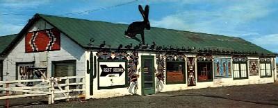 Jack Rabbit Trading Post in Joseph City, Arizona