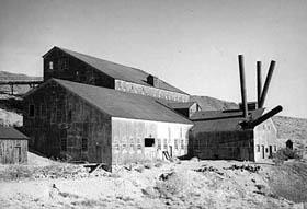 A mining mill in Arizona.