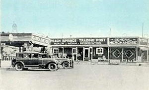 Peach Springs, Arizona Trading Post