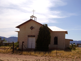 Pearce, Arizona church