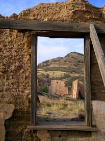 Ruby, Arizona Mercantile Window