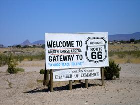 Welcome to Golden Shores, Arizona