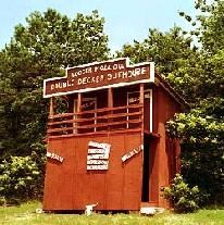 Double Decker outhouse in Dover, Arkansas