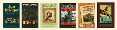 Old West Books from Legends' General Store