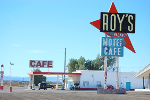 Roy's Cafe & Gas in Amboy, California