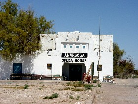 Armagosa Opera House in Death Valley, California