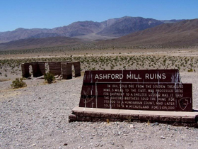 Ashford Mill Ruins, Death Valley, California