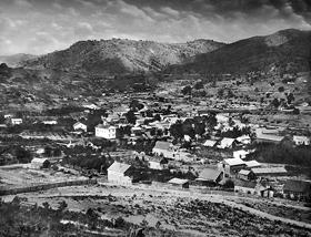 Coloma, California in 1857
