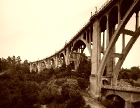 Colorado Street Bridge, Pasadena, California