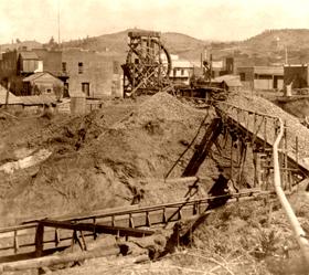 Mining in Columbia, California, 1866.