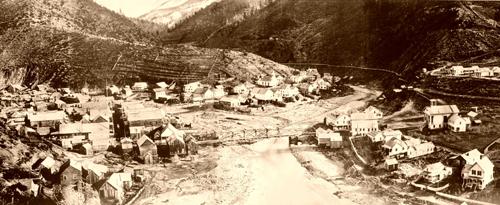 Downieville, California, 1865.