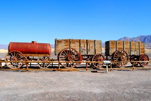 20 Mule Team Wagon, Harmony Borax Works, Death Valley, California