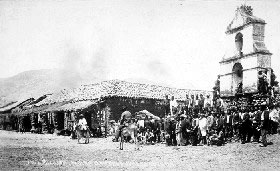 Los Angeles mission in the late 19th century