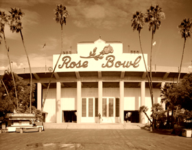 Rosebowl Stadium, Pasadena, California
