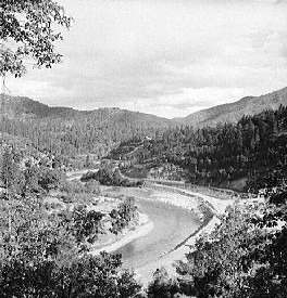 Sacramento River in Shasta County, California