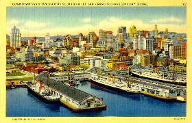 Vintage San Francisco Postcard