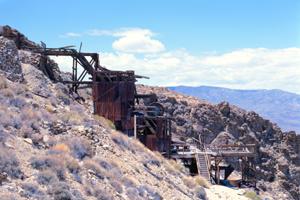 Skidoo Mine in Death Valley, California