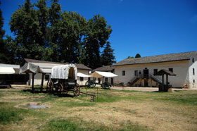 Sutter's Fort, California today