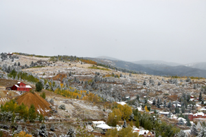 Central City mining and part of the town