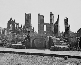 Charleston in ruins after the Civil War