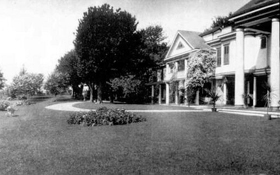 The Smith's Presdeleau estate on Shelter Island in New York.