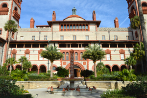 The Ponce de Leon Hotel is now Flagler College