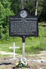 Mary Turner Historical Marker