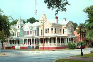 Savannah, Georgia Victorian District