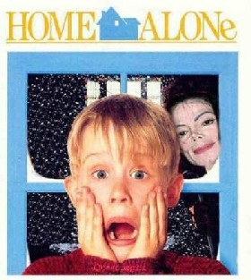 Home Alone Scary Picture