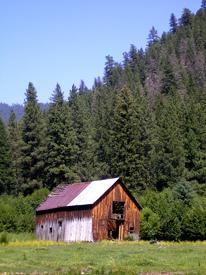 Gibbonsville, Idaho Barn