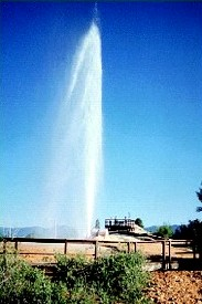 Soda Springs, Idaho Geyser