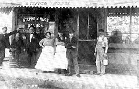 Rossi's Saloon in Braidwood, Illinois
