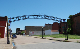 Historic Downtown Cairo, Illinois Welcome Arch