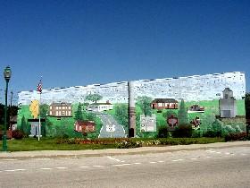 Mural in Chenoa, Illinois