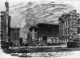 chicago, illionois in 1863