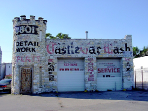 Castle Car Wash on Route 66 in Chicago, Illinois
