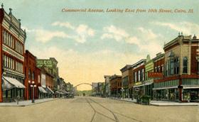 Commercial Avenue, Cairo, Illinois