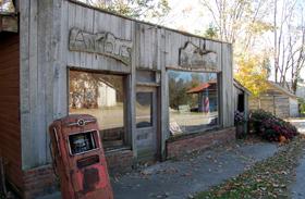 Antique Store in Funk's Grove, Illinois