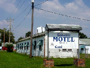 The old Belevidere Motel