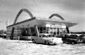 Vintage McDonalds in Joliet, Illinois