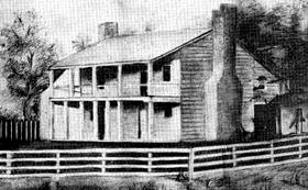 James Latham Home became the Kentucky Tavern House