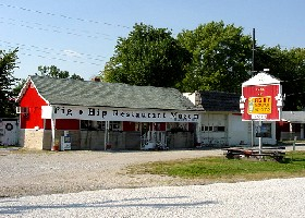 The Pig-Hip Museum in Broadwell, Illinois