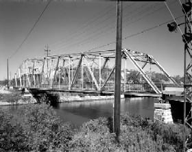 Bridge of I & M Canal in Romeoville, Illinois