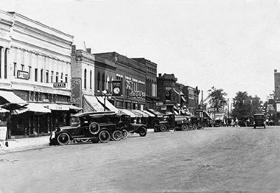 Virdin, Illinois in the 1920s
