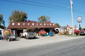 The Old Station, Williamsville, Illinois
